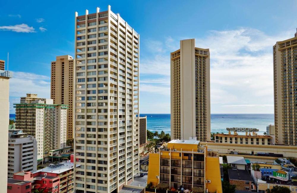 ハワイ・ワイキキの安いホテル(イメージ)