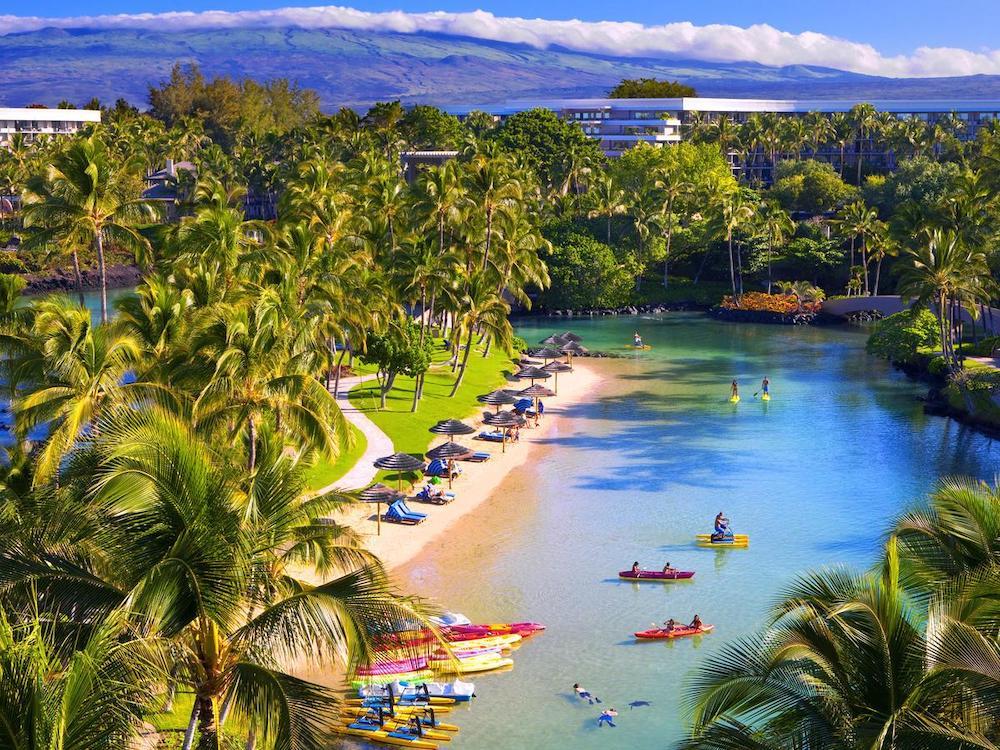 ハワイ島のホテル(ヒルトン・ラグーン)