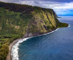 ハワイ島の海