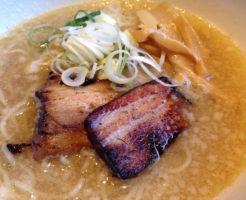 恵比寿のラーメン(よってこいや・鶏ガラとんこつ醤油)