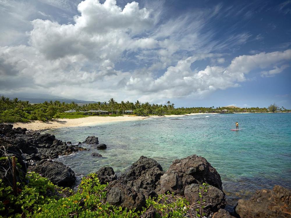 ハワイ島の高級ホテル(イメージ)