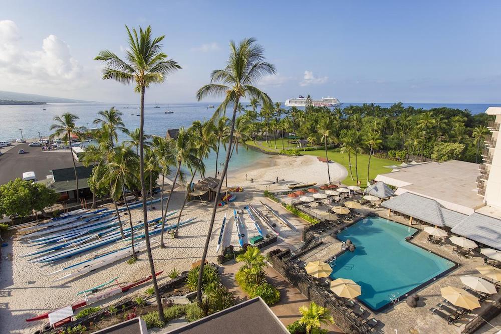 ハワイ島のおすすめホテル(コナ)